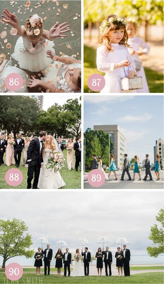 Pictures of the Bridal Party
