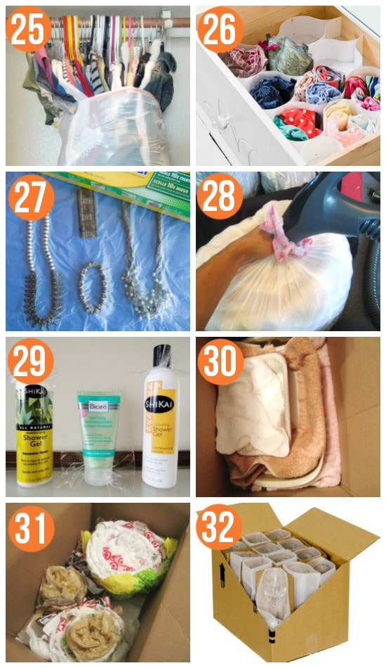 Packing Hacks to Make Your Move Easier