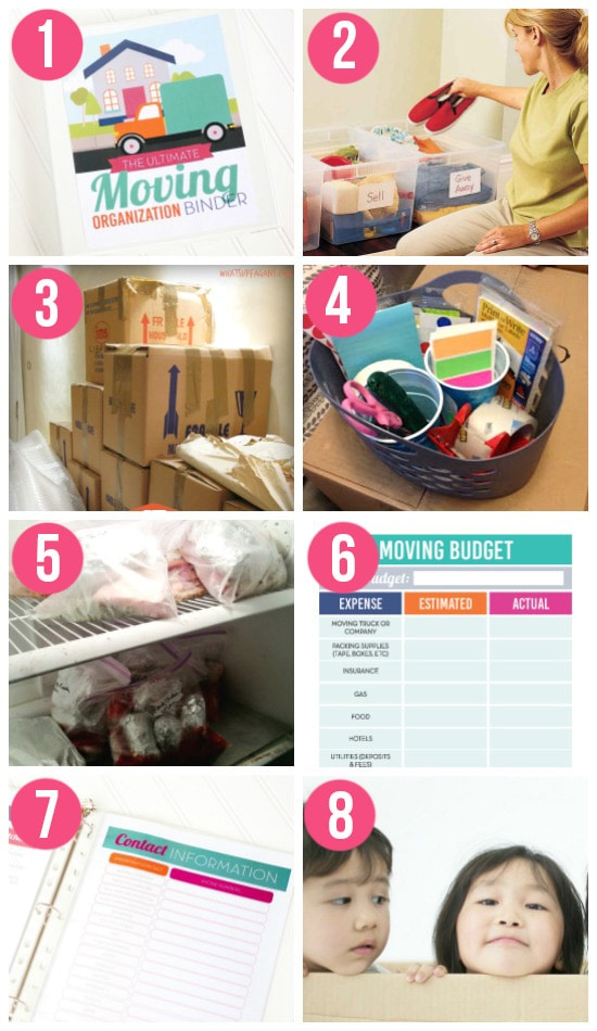 Packing Organization Tips and Ideas