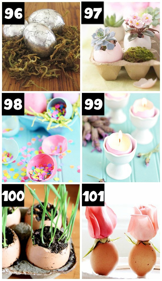 Spring Decorating With Egg Shells