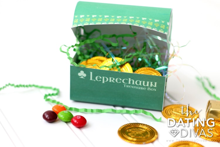St. Patrick's Day Exercise Treasure Hunt Chest