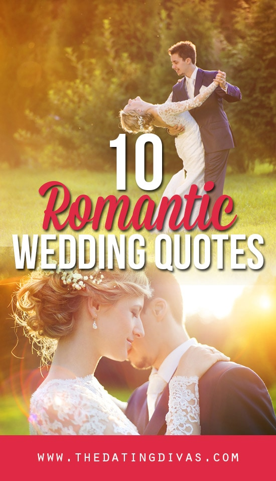 Romantic Wedding Quotes banner