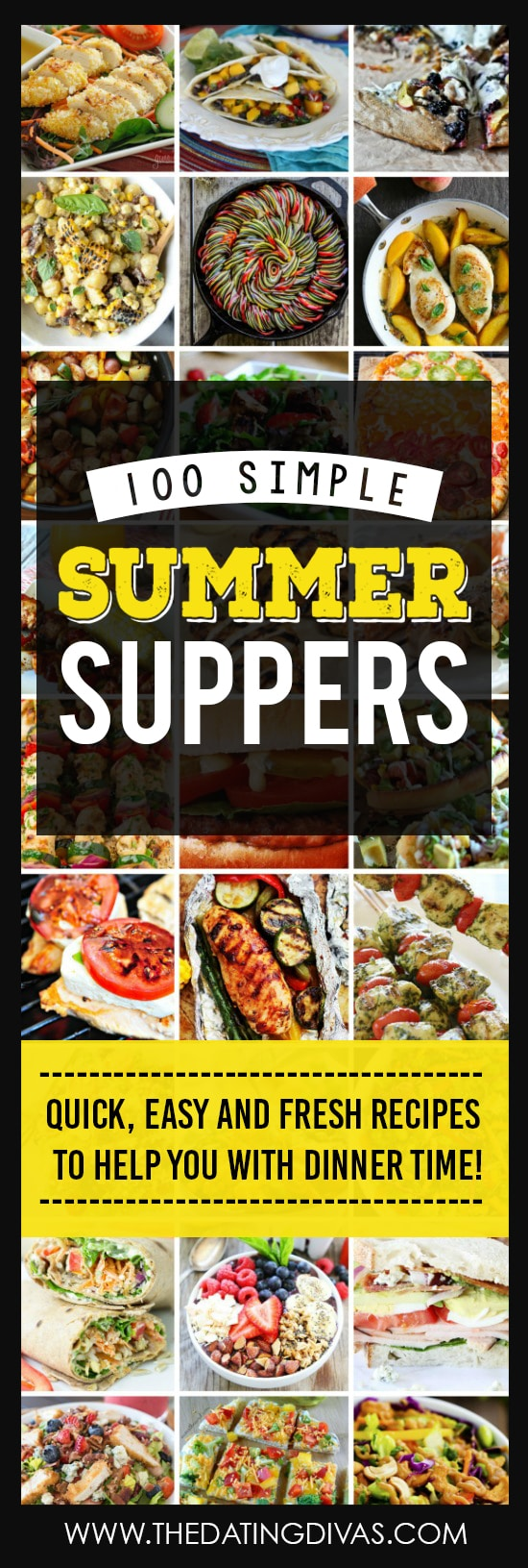 100 Simple Summer Suppers