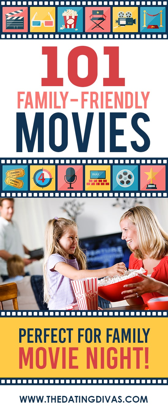 Family-Friendly Movies #FamilyMovieNightIdeas