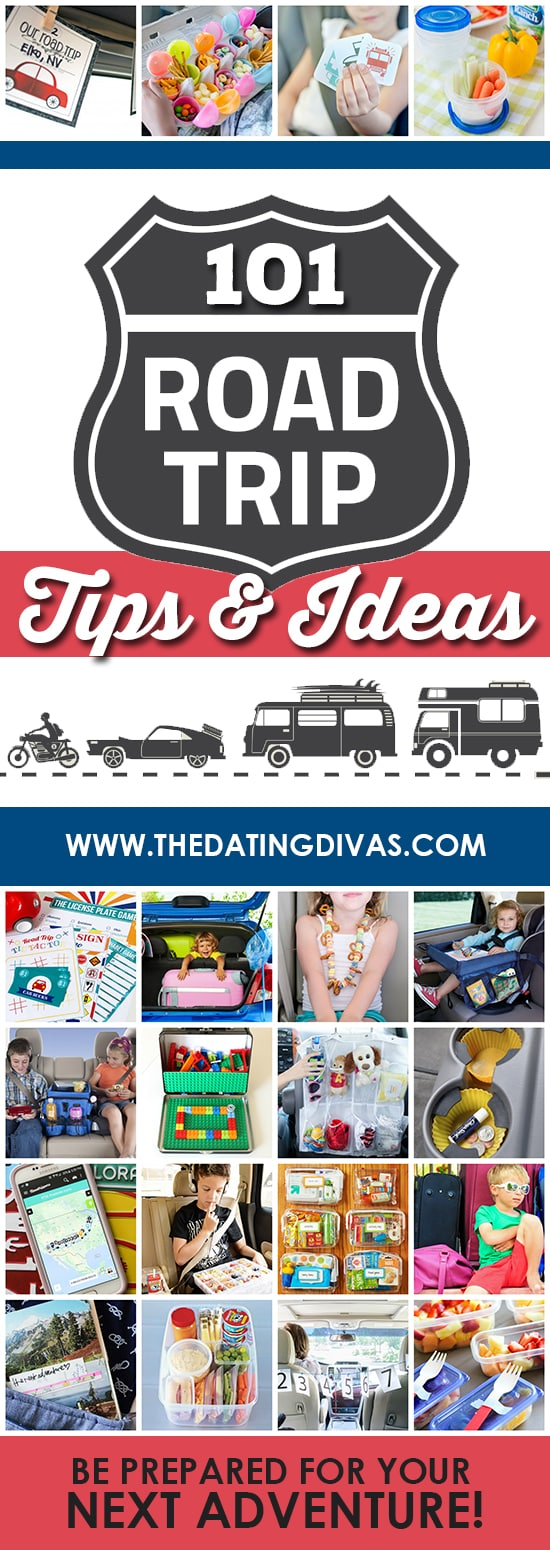 SO many awesome road trip tips and ideas to keep you sane this summer! #TheDatingDivas #RoadTripTips #LongRoadTripTips