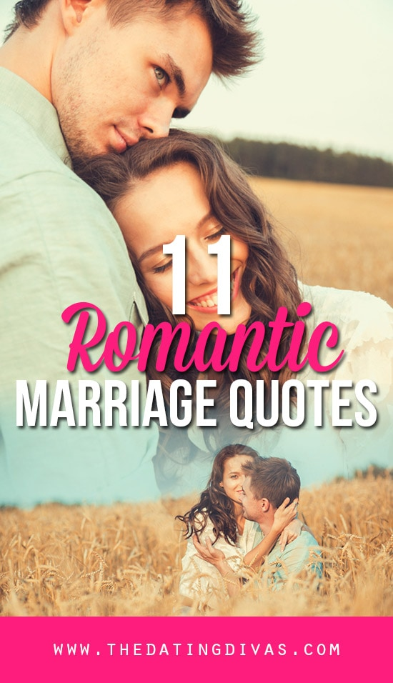 11 Romantic Quotes about marriage banner