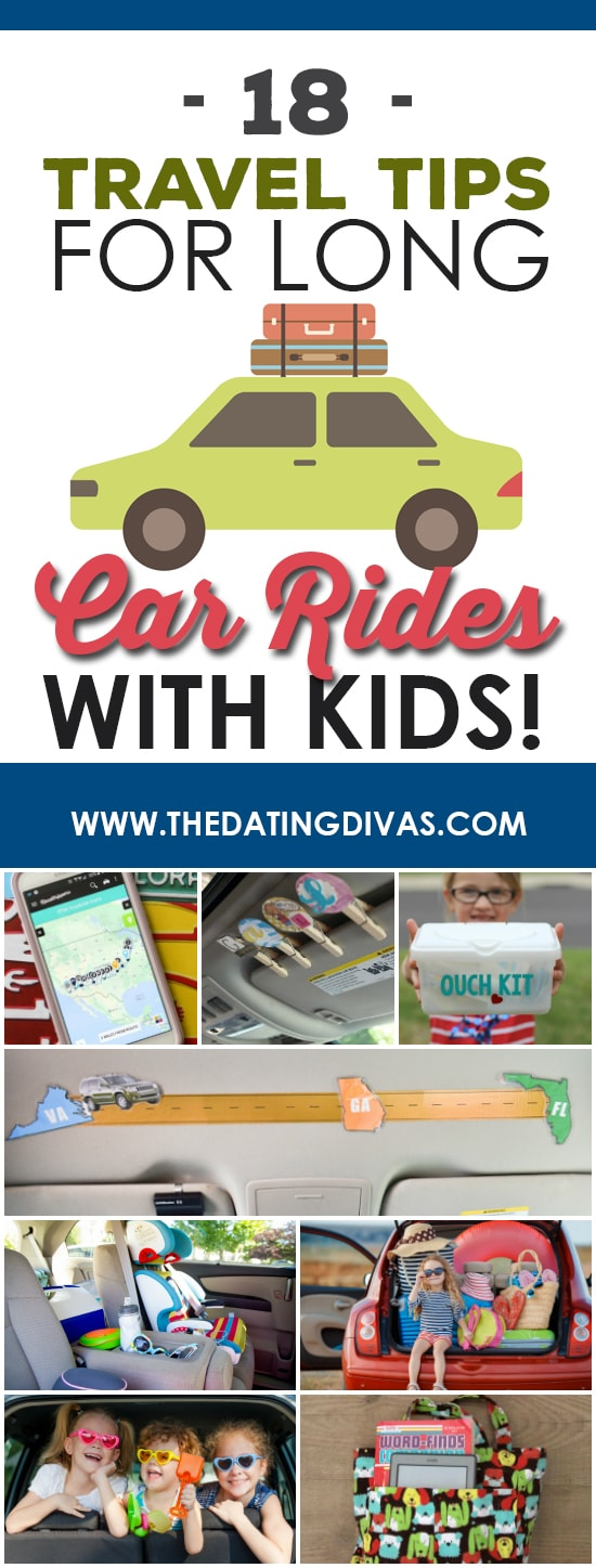 Travel Tips for Long Rides with Kids