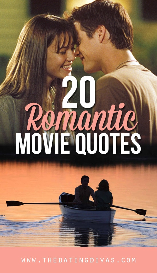 Romantic Movie Quotes 101 Romantic Love Quotes  From The Dating Divas