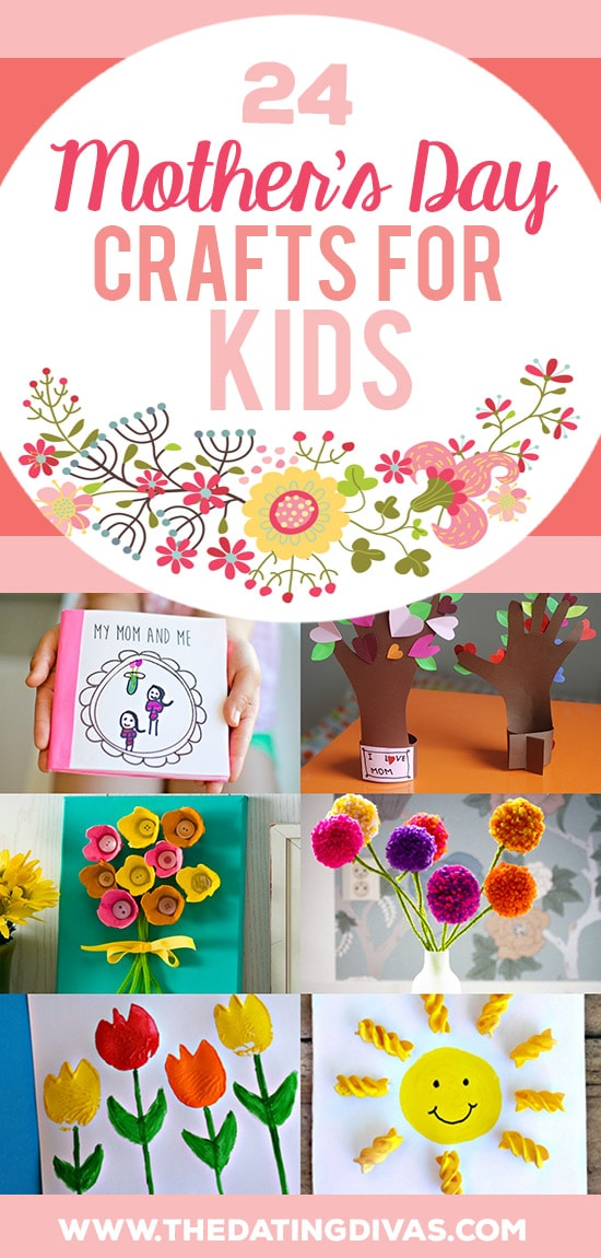 24 Mother's Day Crafts for Kids