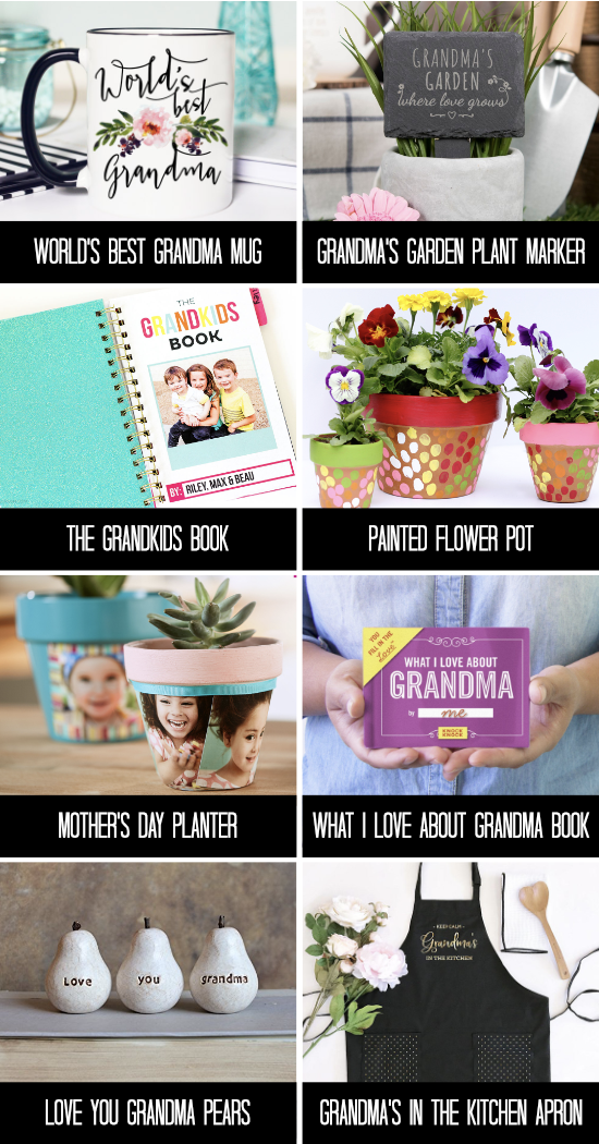 Amazing Mother's Day Gifts for Grandma