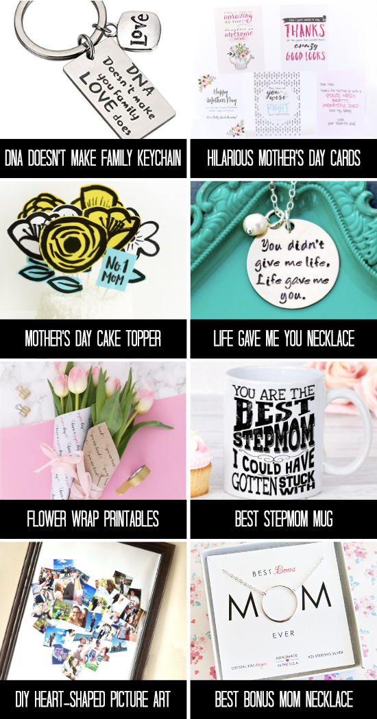 Amazing Mother's Day Gifts for Stepmom