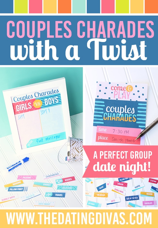 Speed dating with a twist game