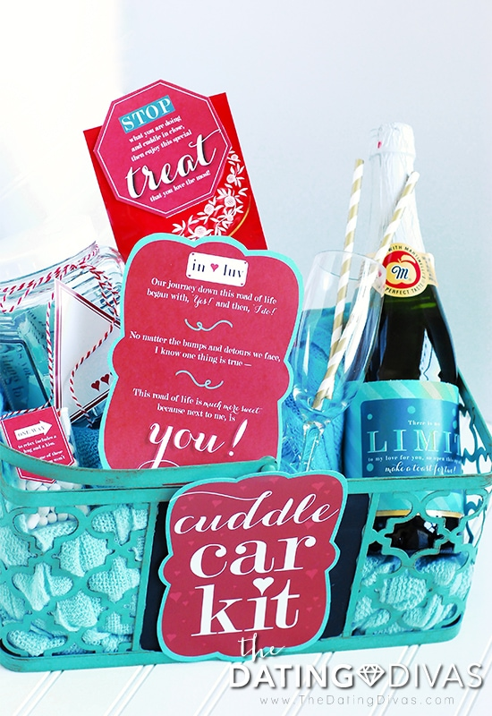 Cuddle Car Kit Basket with Printables