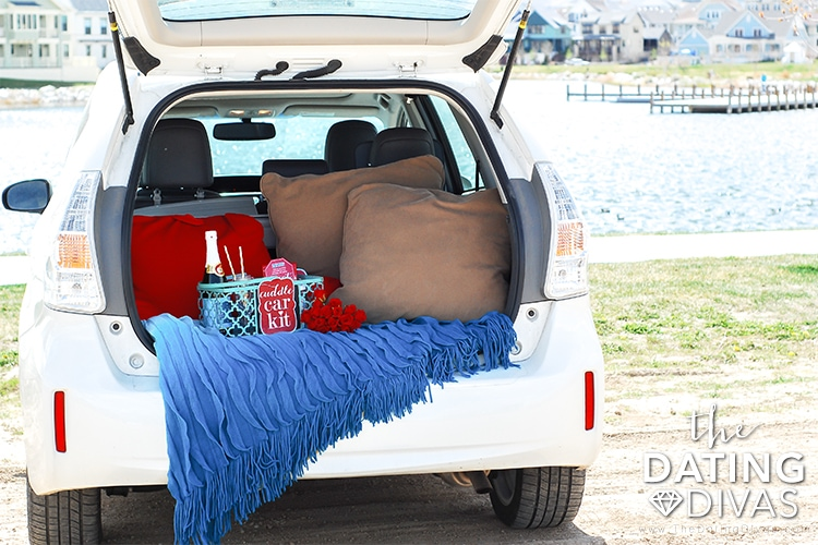 Cuddle Car Kit Date Night in Your Car