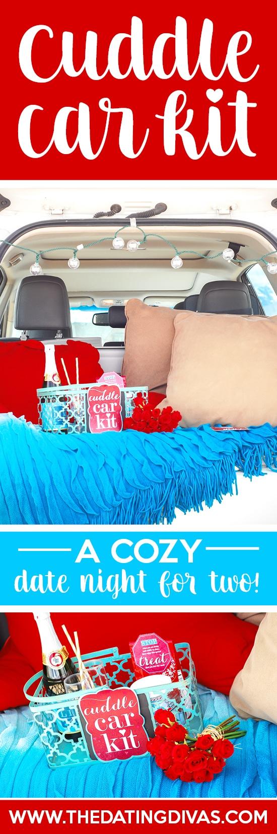 Cuddle Car Kit: An Easy Date Night Idea