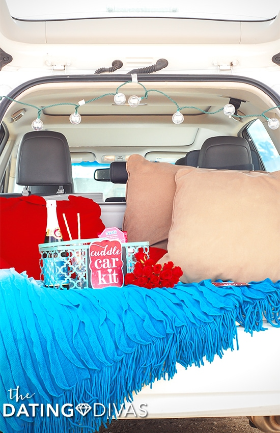 Cuddle Car Kit Quick and Easy Date Night