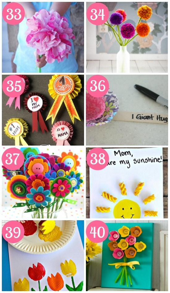 Cute Mother's Day Crafts for Kids