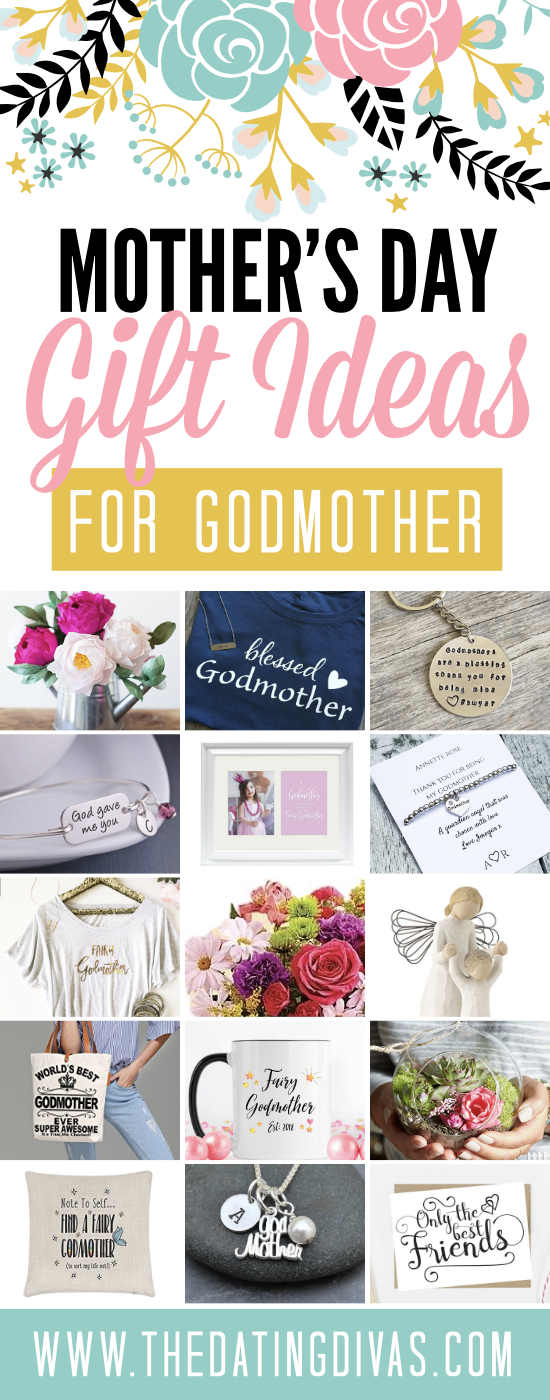 Cute Mother's Day Gifts for Godmother
