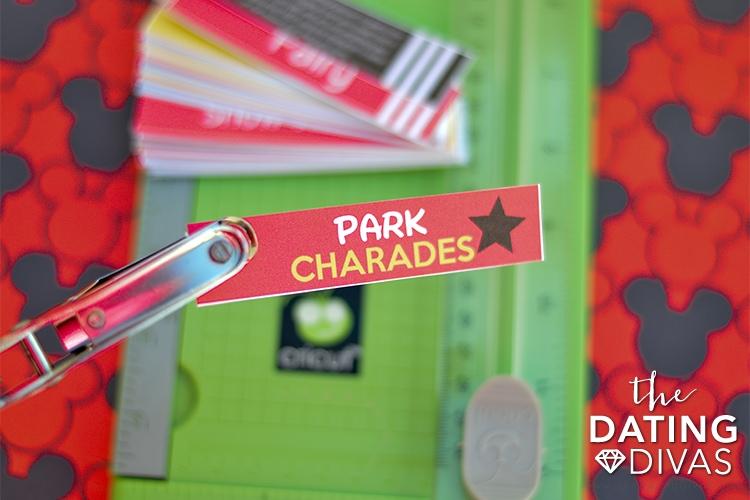 Disney Park Charades