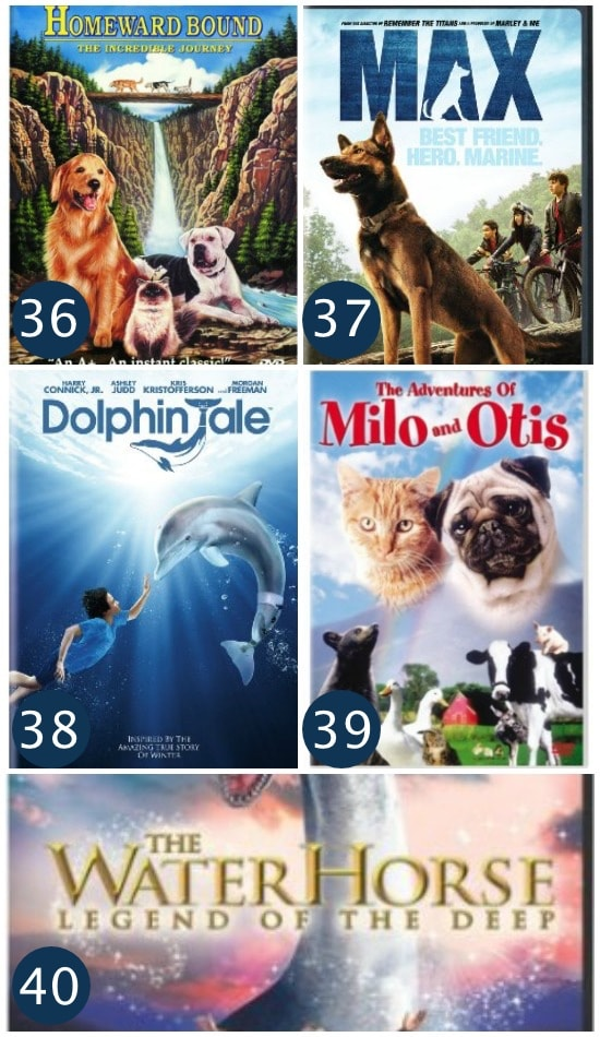 101 family friendly movies