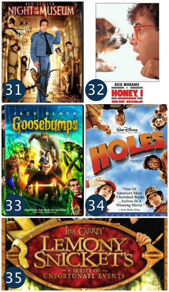 Adventure Films Family Movie Night Ideas