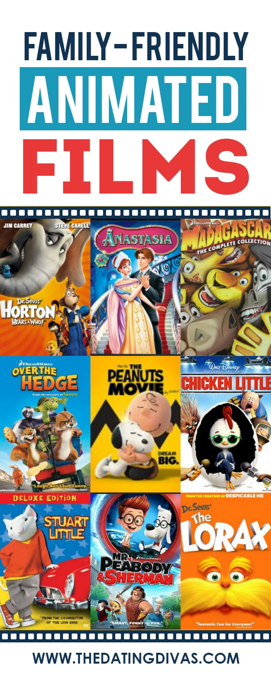 Family-Friendly Animated Movies