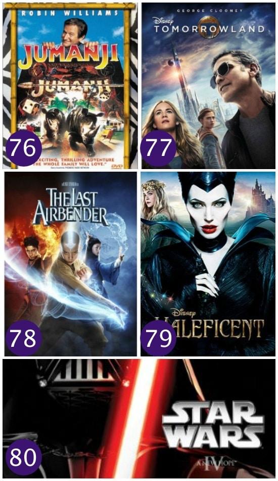 Family Movie Night Fantasy Films