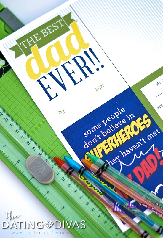 Father's Day Printable Book