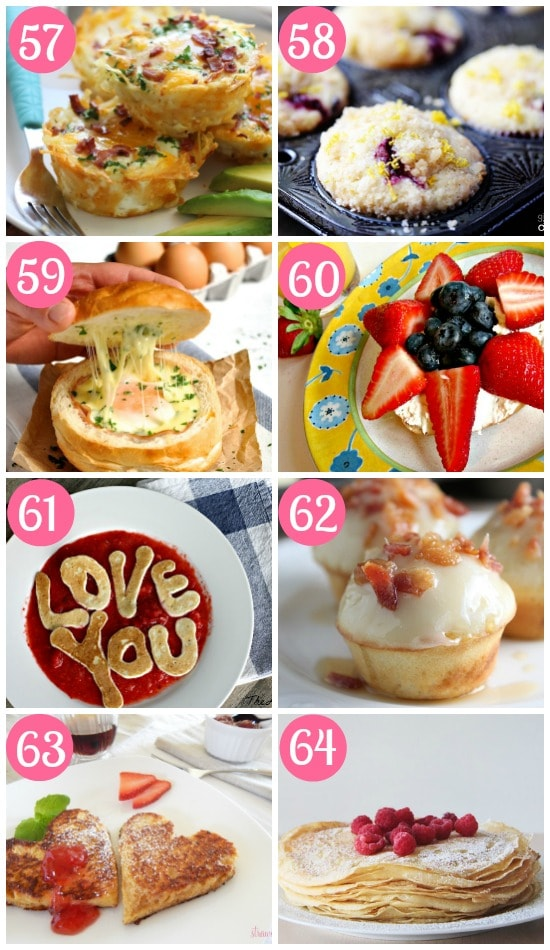 Food Ideas for Mother's Day