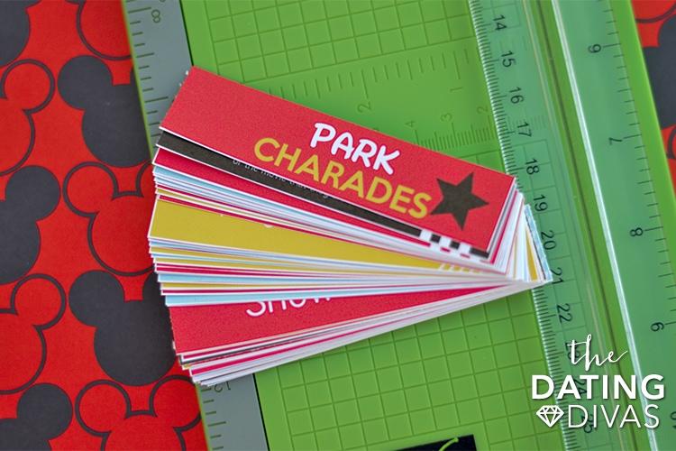 Free Disney Printable Park Charades