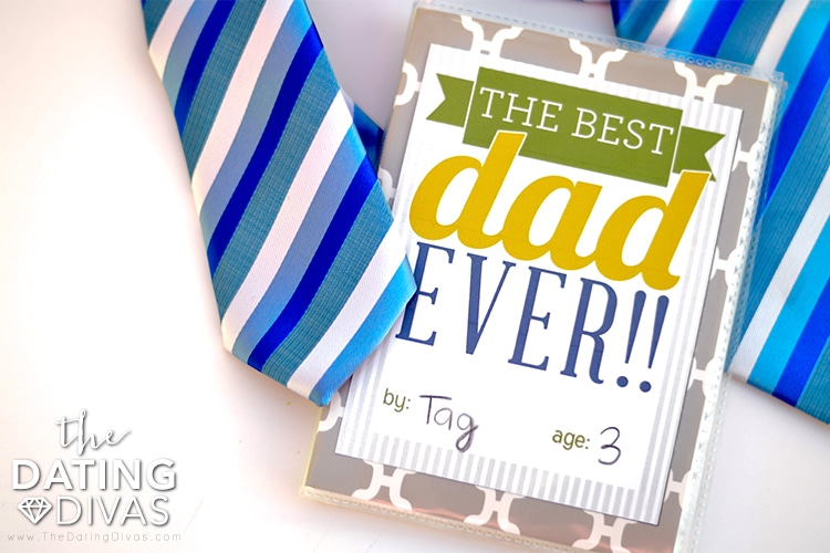 Fathers Day crafts for Dad