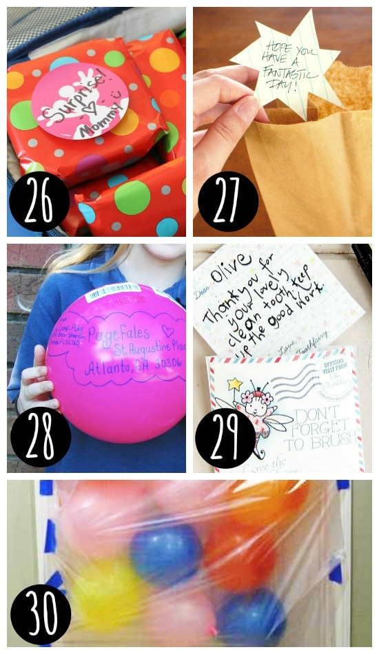 Fun surprises for your kids!