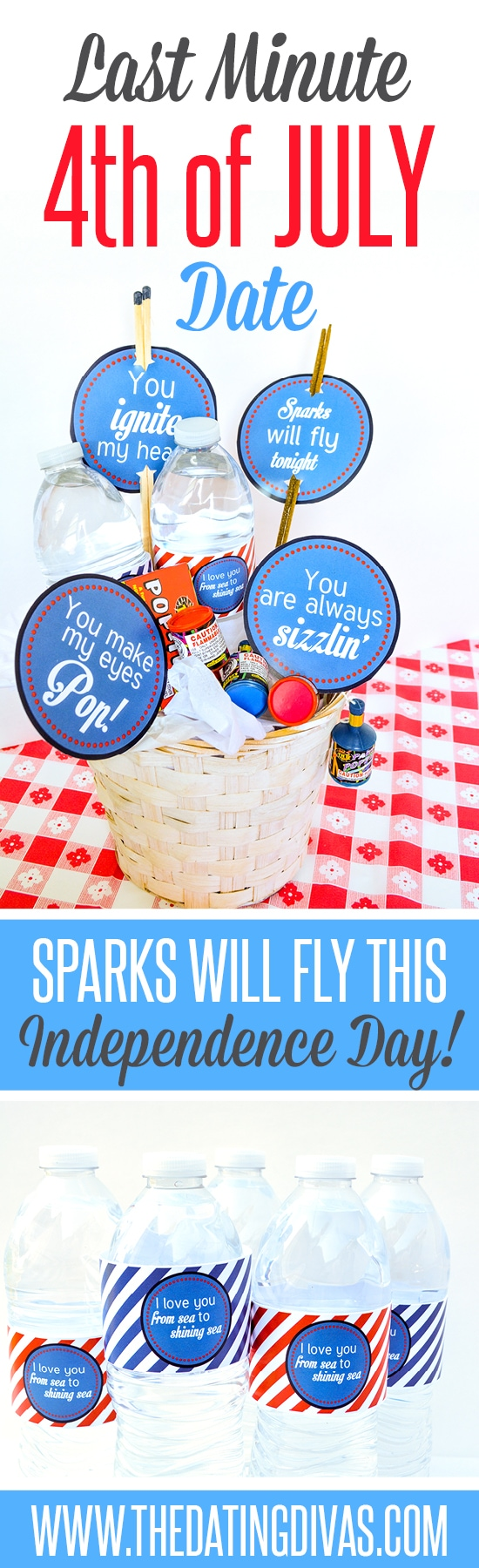 Cute idea for a 4th of July date!