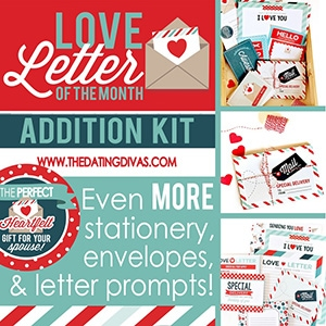 monthly love letters