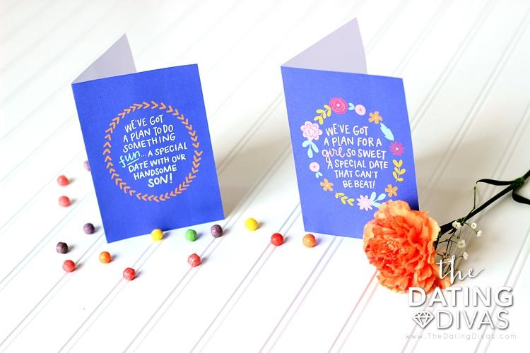 Mini Mom and Dad Dates Invitations