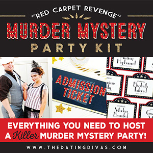 murder mystery party kit