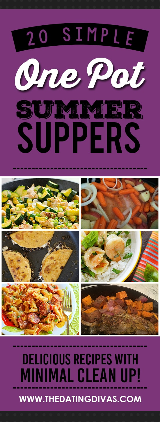 One Pot Suppers