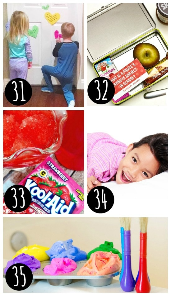 Fun ways to surprise your kids!