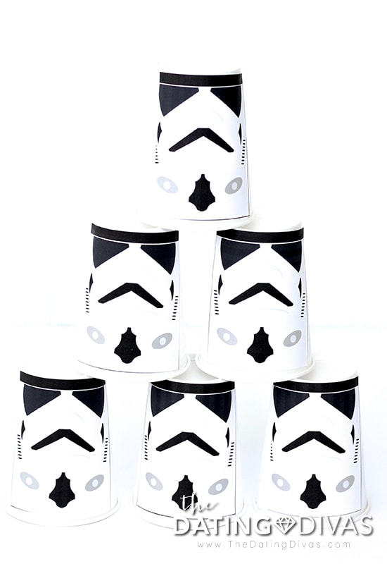 Star Wars Storm Trooper Targets