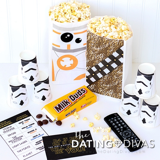 Star Wars Movie Date Printables