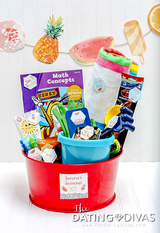 Summer Boredom Gift Basket Idea