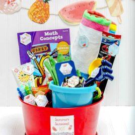 Summer gift basket