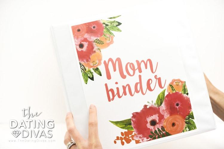 The Mom Binder, Binder Cover