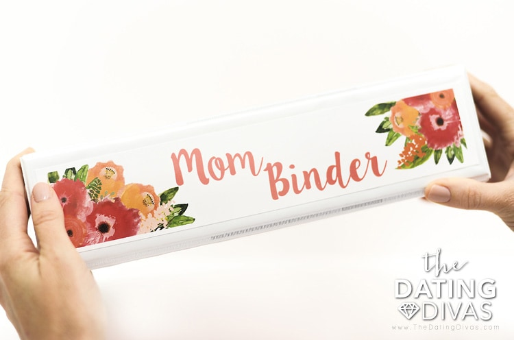 The Mom Binder, Binder Spine