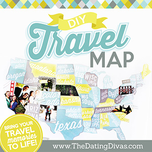 Dating divas diy travel map