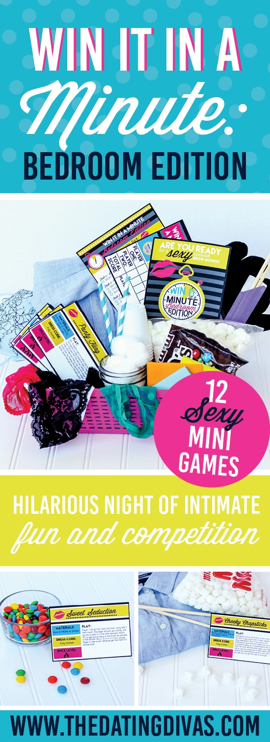 Win It In A Minute: Bedroom Edition   Hilarious, Sexy Games!