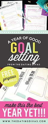 A year of goal setting printables