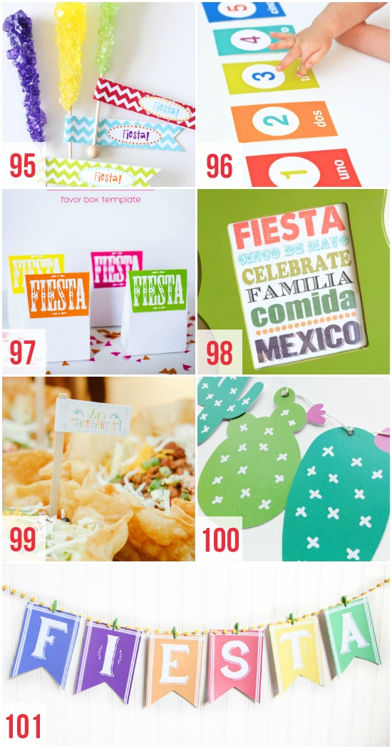 Fun Cinco de Mayo Printables