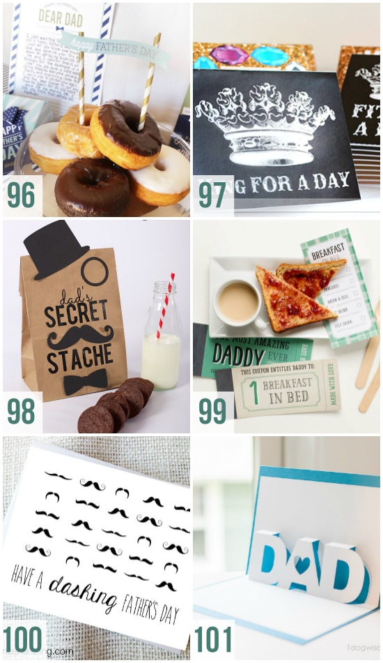 Amazing Father's Day Printables