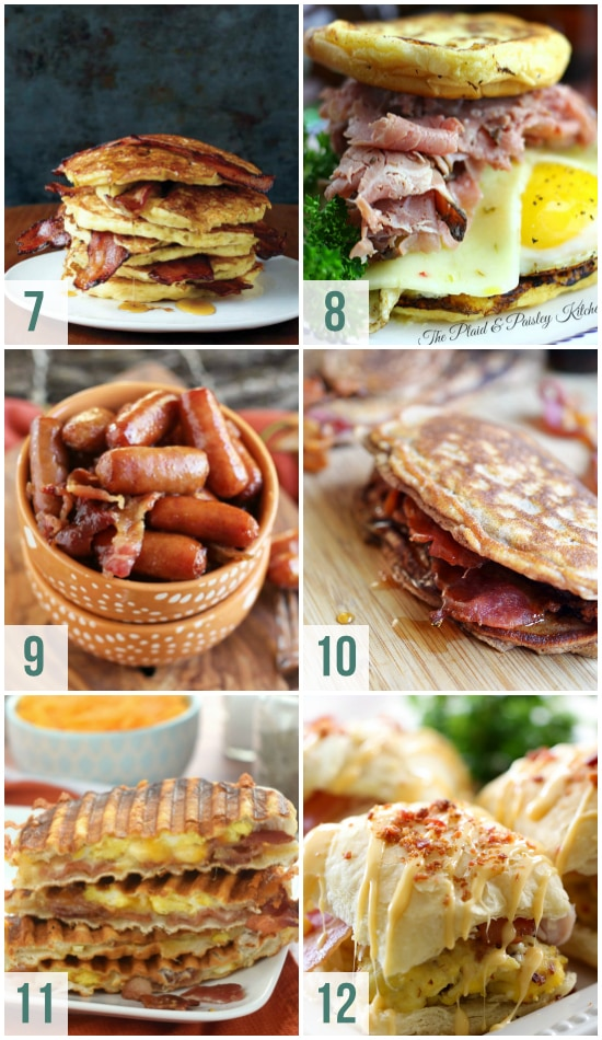 Bacon Breakfast Ideas for Father's Day